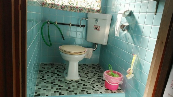 沖縄 トイレ交換1