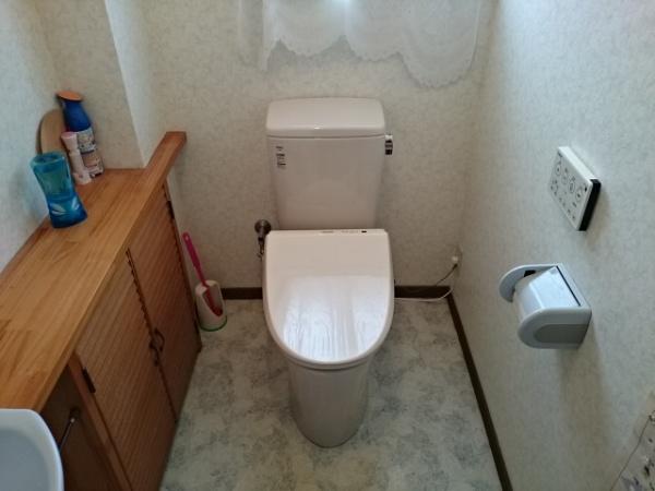 秋田トイレ交換2
