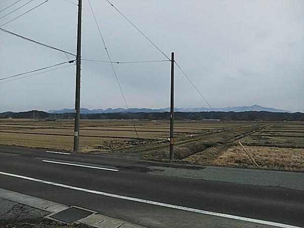 228 秋田 雪がない2月-1