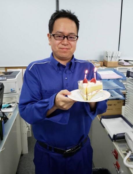 名古屋12月誕生会H課長2